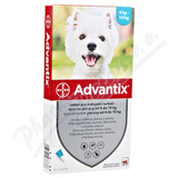 Advantix pro psy 4-10kg spot-on a. u. v. 1x1ml