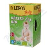 LEROS BABY BIO Dětský čaj bylinný n. s. 20x2g