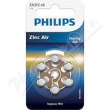 Baterie do naslouchadel PHILIPS ZA312B6A-00 6ks