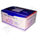 Inzulin. stříkačky BD 0. 5ml 30G x 8mm U-100 100ks
