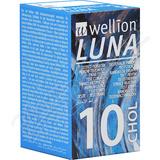 Wellion LUNA testovací proužky cholesterol 10ks