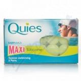 Quies Silik. chrániče sluchu MAXI 3 páry -plavání