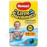 HUGGIES Little Swimmers vel. 5-6 12-18kg 11ks