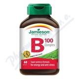 JAMIESON B-komplex 100mg s postupným uvolň. tbl. 60