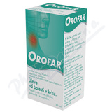Orofar 2mg-ml+1. 5mg-ml orm. spr. sol. 1x30ml