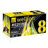 Wellion MEDFINE jehly inz. pera 0. 30x8mm 30G 100ks