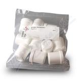 Kelímek bílý 10g-12ml šroub. uzávěr 10ks Fagron