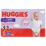 HUGGIES Pants Jumbo 5 12-17kg 34ks