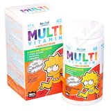 The Simpsons Multivitamin + kolostrum tbl. 45