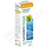Sanorin Aqua ANTI-ALLLERGY sprej 20 ml