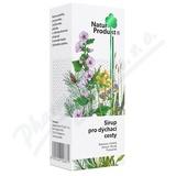 Naturprodukt Sirup pro dýchací cesty 200ml