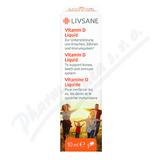 LIVSANE Vitamin D pro zdravý růst kapky 10ml