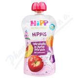 HiPP BIO 100% ovoce Jablko-Broskev-Mirabelka 100g