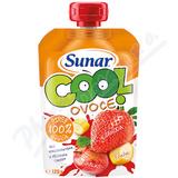 Sunar Cool ovoce jahoda banán jablko 120g