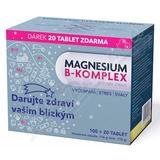 Magnesium B-komplex VÁNOCE Glenmark tbl. 100+20