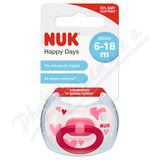 NUK Dudlík Happy Days SI V2(6-18m) 1 ks BOX 736334