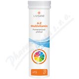 LIVSANE Šumivé tablety CZ A-Z multivitamin 15ks