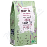 BIO Zelený čaj s levandulí chodouňskou 30g