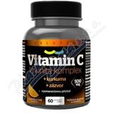 Vitamin C 500mg Imunita kurkuma + zázvor tbl. 60