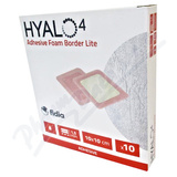 Hyalo4 Silic. Adhes. Border Lite Foam dr. 10x10-10ks