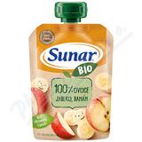 Sunar BIO kapsička Jablko banán 100g
