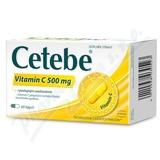 Cetebe vitamin C 500mg cps. 60