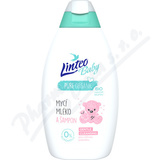 Mycí mléko a šampon LINTEO BABY 425ml