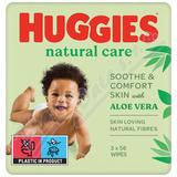 HUGGIES Natural Care Triplo 56x3ks