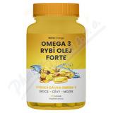 MOVit Omega 3 Rybí Olej FORTE tob. 60