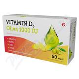 Vitamin D3 Oliva 1000IU cps. 60