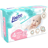 Dětské plenky LINTEO BABY PREMIUM MAXI 8-15kg 50ks