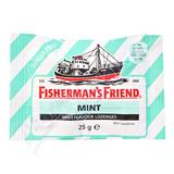 Fishermans Friend bonbóny dia mint-zelené 25g
