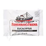 Fishermans Friend bonbóny eucalyp-menthol-bílé 25g