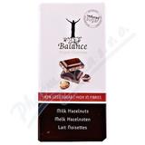Balance Mléčná čokoláda s lísk. ořechy b. cukru 100g
