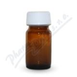 Lékovka 25ml hnědá-šroub. uzáv. (20ks) Fagron