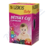 LEROS BABY Dětský čaj s ovocem n. s. 20x2g