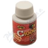 JML Vitamin C tbl. 65x1000mg post. uvol. s šípky