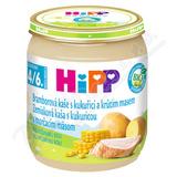HiPP BABY BIO Br. pyré s kukuřicí a krůtím 125g